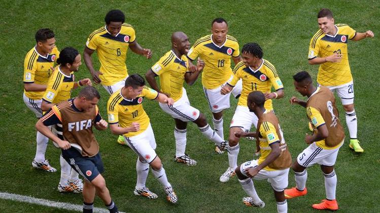 Colombia World Cup Dance